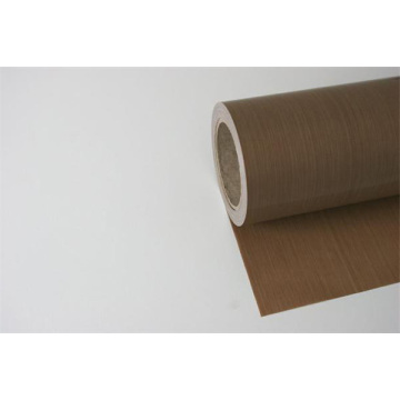 PTFE glass fabric 0.18 brown