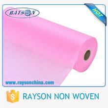 Matéria têxtil não tecida hidrófila de Rayson, matéria prima para limpezas molhadas