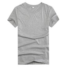Feito na camisa do OEM T de China para homens com impressão feita sob encomenda do logotipo