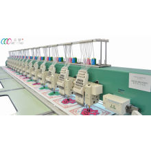 Mixed 15 Heads Chenille And Flat Embroidery Machine With Servo Motor
