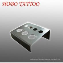 Luz pesa máquina de tatuagem tinta suporte de copo e acessórios
