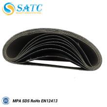 La correa de lija abrasiva revestida incluye 40-120 grit 10 PACK