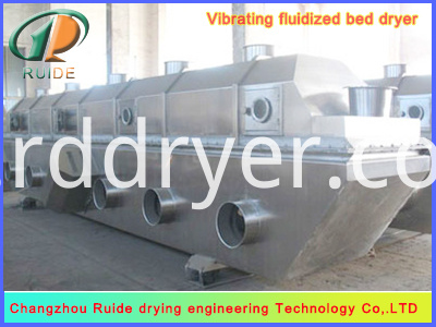 Ammonium sulfate special vibrating fluidized bed dryer