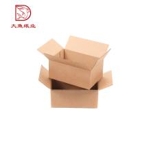 Nouveau design écologique recyclable 3-couche tube ondulé carton boîte oem