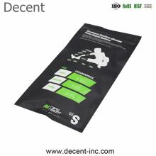 Free Sample Custom Logo Mask Gloves Cuffs Clear Zipper Bag Mask Packaging Bag