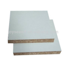 melamine white partice board for bathroom and cabinet