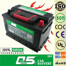DIN-55415 12V54AH more convenience battery for Maintenance Free Car Battery