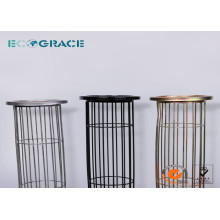 Stainless Steel Dust Filter Bag Cage with Spray Coatng Finish