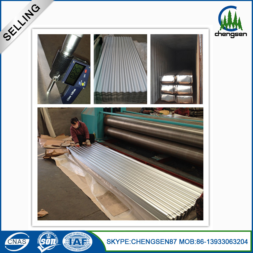 Prime Galvanized Metal Zinc Steel Roofing Sheet