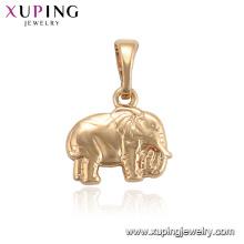 33982 xuping слона золото экологических медный кулон для женщин
