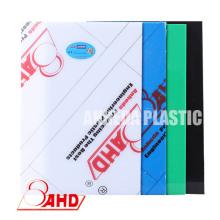 Feuille de polyéthylène coloré de haute qualité de 1000 * 2000mm PE