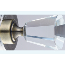 Crystal Window Finial Metal