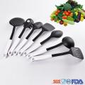 durable plastic cooking utensil set for household kitchen