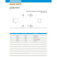 laser cutting spare parts