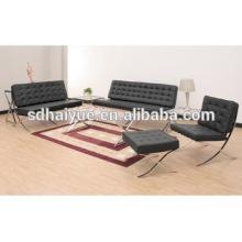 Современное кресло для гостиной специфическая польза и стул Барселона Стиль кресла черный