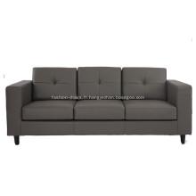 Canapé 3 places en cuir de style américain