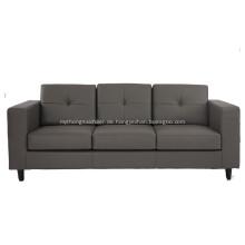 American Style Leder 3 Sitzer Sofa