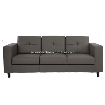 American Style Leather 3-sits soffa