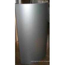 Panel de revestimiento de pared de panal de aluminio en forma de arco