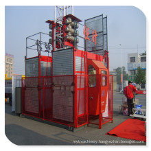 Building Hoist China Supplier 2t Capacity Double Cage