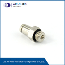 Air-Fluid Quicklin Push in Straight  Fittings.