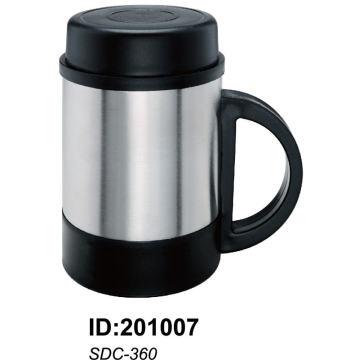 Tasse sans doublure en acier 18 / 8stainless avec double paroi Sdc-360