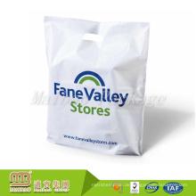 Guangzhou Fabrik Günstige Boutique Benutzerdefinierte Logo Gedruckt Starke Wärme Versiegelt Kunststoff Gestanzte Einkaufstasche