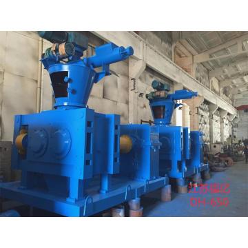 Granulating machine polishing