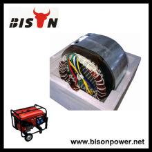 BISON China Copper Wire 100% Alternateur de matériaux neufs pour 2kva 168f Portable Generator