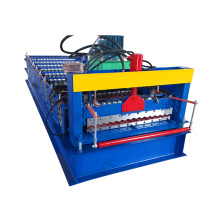 XN850 Passou ISO & CE onda de aço de zinco telha telhadura folha de rolo que faz a máquina de prensagem para venda