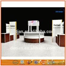 Prateleiras de exposição portátil e desmontável exposição prateleiras para feira em Xangai 001781
