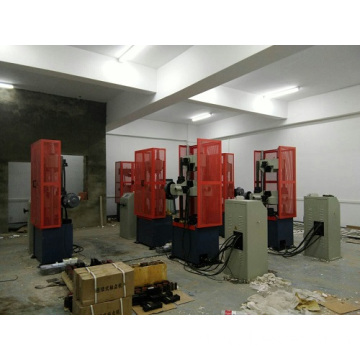 WE-600B 3 Titik Mesin Bending Testing