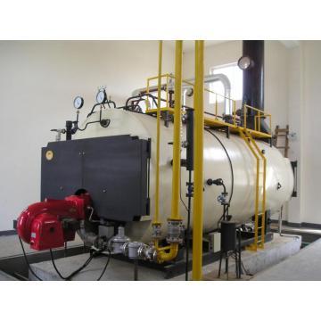 8-тонный паровой котел WNS на жидком топливе