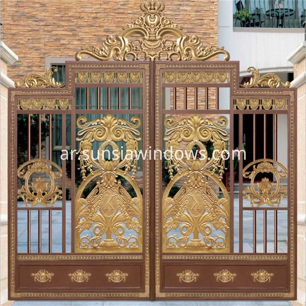 Front Entry Gates