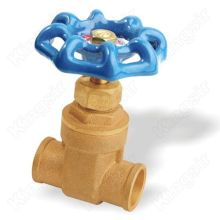 USA Light Brass Gate Valves Solder Ends