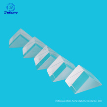 Length of legs 15mm RA Prism Fused Silica Optical Glass