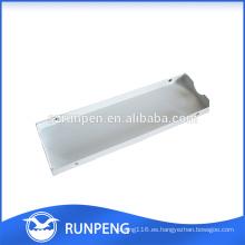 Sellado de caja de aluminio