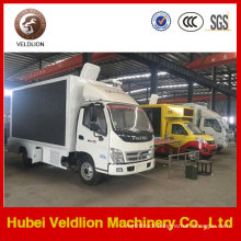 Foton Mobile Outdoor LED Advertising Truck