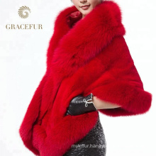 Reasonable price winter mink fur shawl