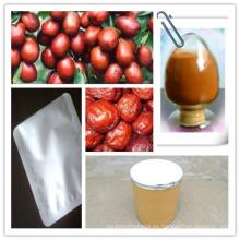 Extracto rojo de la azufaifa de la venta caliente, polvo rojo del extracto de la azufaifa, polvo rojo de la azufaifa