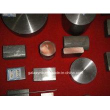 Titane de haute qualité revêtu barre métallique cuivre