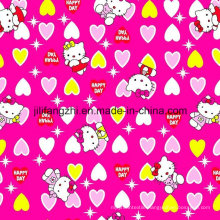 100% Cotton Flannel for Clothing