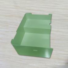 Metall Biegen Bunte Pulverlackierung Blechbearbeitung Laserschneiden Ersatzteil