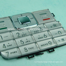 Plastic Cover Rubber Keypress Button Keypad