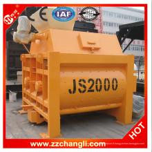 Mélangeur à béton électrique certifié CE & ISO à vendre Js2000