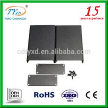 proveedor de china caja de aluminio eléctrica personalizada caja electrónica