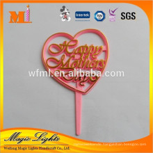 Wholesale Plastic Happy Mother's Day Cake Decoration