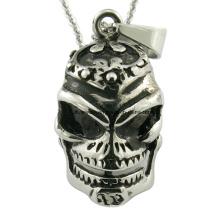 Pingente gótico da forma da jóia do crânio