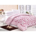 Microfibre Soft Touch Solid Printed Comforter Set