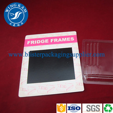 Slide Blister Packaging  PET PVC Printing Card